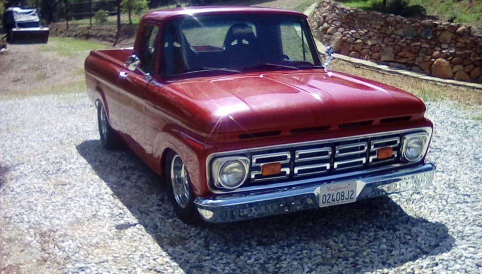 1961 Ford F-100 Unibody (Gold Country, CA) $39,900 obo For Sale (picture 1 of 6)
