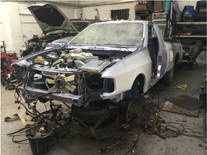 1990 Ford sierra p100 cosworth resto project