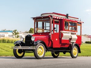1929  Ford Model AA Cretors Popcorn Truck