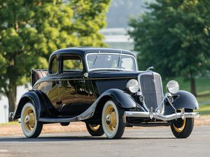 1934 Ford V-8 DeLuxe Five-Window Coupe  For Sale by Auction