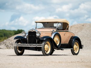 1931 Ford Model A DeLuxe Roadster  For Sale by Auction