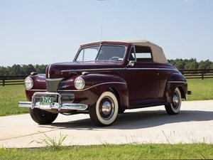 1941 Ford V-8 Super DeLuxe Convertible Coupe  For Sale by Auction
