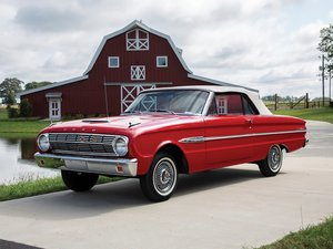 1963 Ford Falcon Futura Sport Convertible  For Sale by Auction
