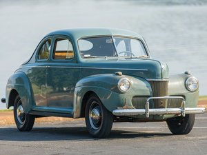 1941 Ford DeLuxe Five-Window Business Coupe  For Sale by Auction
