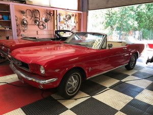 1965 Mustang Convertible Lock in Price Now
