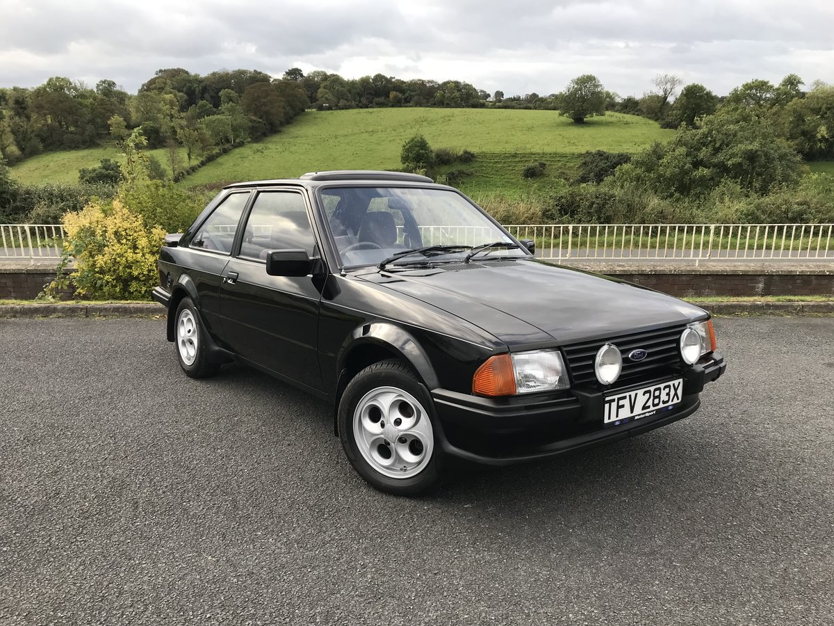 1982 Ford Escort XR3 For Sale (picture 1 of 6)
