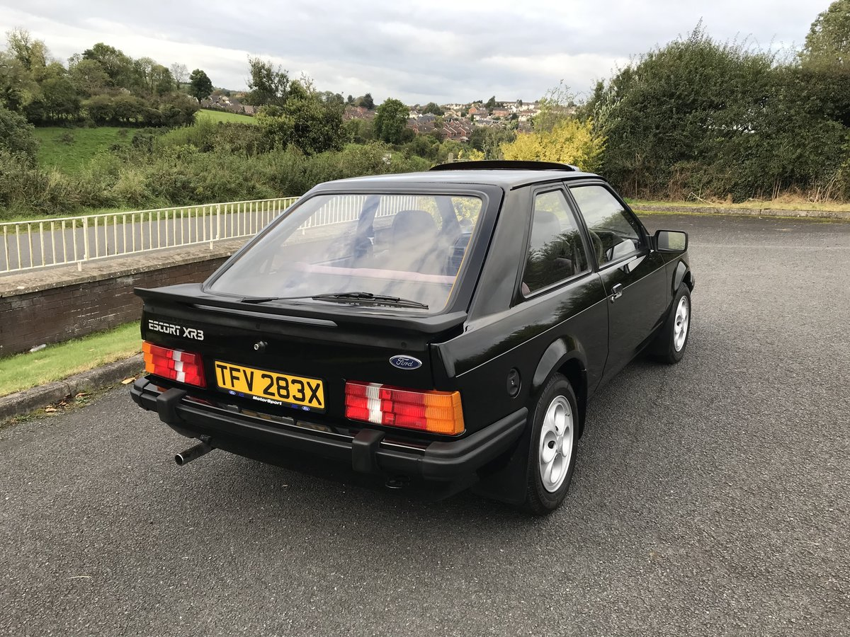 1982 Ford Escort XR3 For Sale (picture 3 of 6)