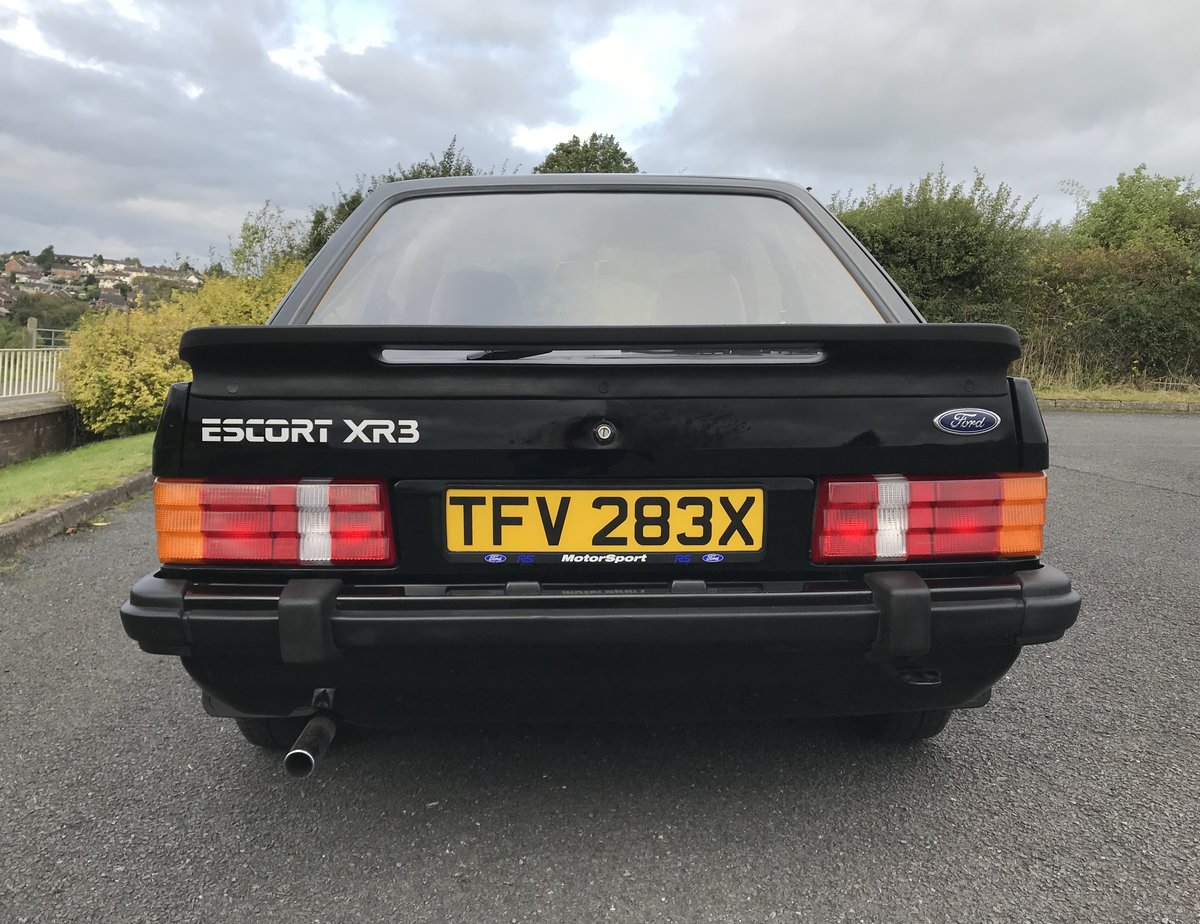 1982 Ford Escort XR3 For Sale (picture 4 of 6)