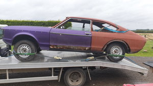 1975 Mk1 granada coupe  n reg spares repair project For Sale