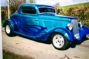 1934 Ford Eliminator 3 Window Coupe HOTROD