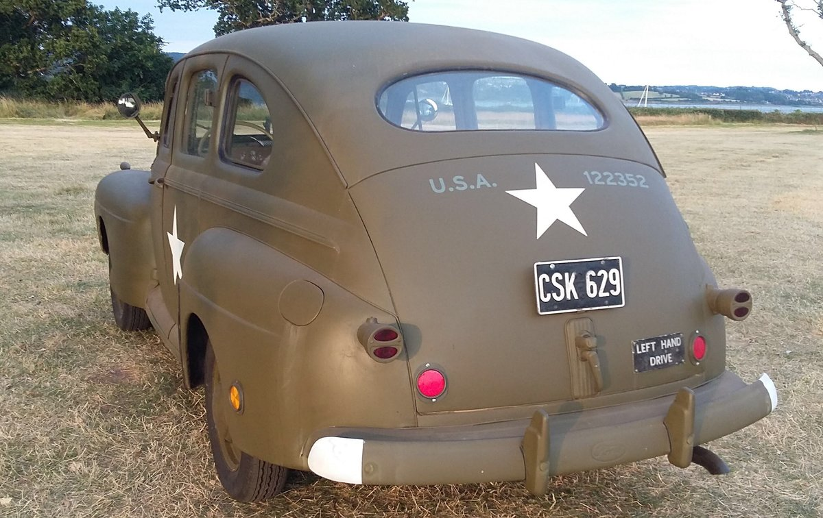 1942 3A/21A Canadian Ford Procurement Staff Car For Sale (picture 2 of 6)