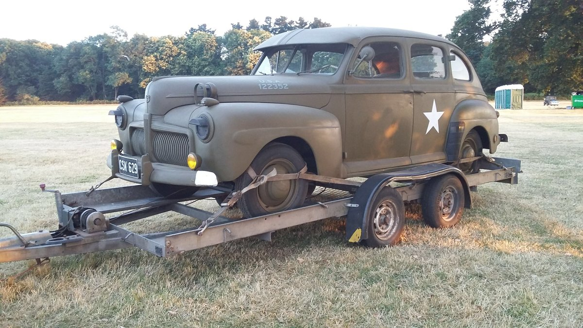1942 3A/21A Canadian Ford Procurement Staff Car For Sale (picture 3 of 6)