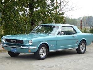 1966 Mustang Coupe 6-Cyls Auto Blue(~)Blue 79k miles $12.9k