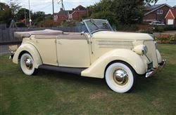 1936 Model 68 Phaeton-Barons Sandown Pk  Saturday 26 October 2019