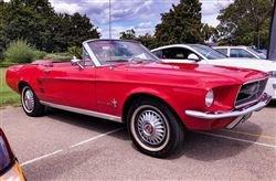 1967 Mustang Conv - Barons Sandown Pk Saturday 26th October 2019