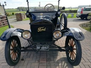 1917 Ford Model T open tourer