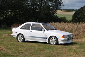 1985  Ford Escort RS Turbo