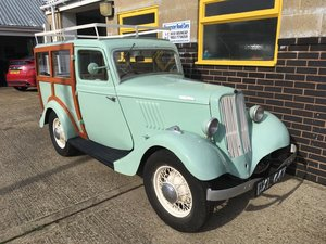 1937 Ford Model Y - 82 years old - mot and tax exempt