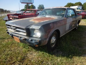 1965 Ford Mustang Coupe Project 289 4 speed Manual $8.9k