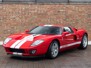2010 Ford GT - Mark IV Red with Black Leather
