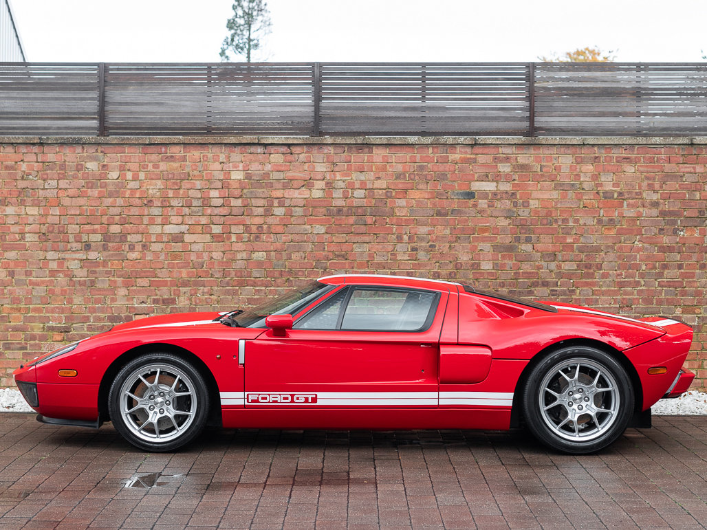 2010 Ford GT - Mark IV Red with Black Leather For Sale (picture 2 of 6)