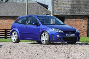 2003 Ford Focus RS For Sale by Auction