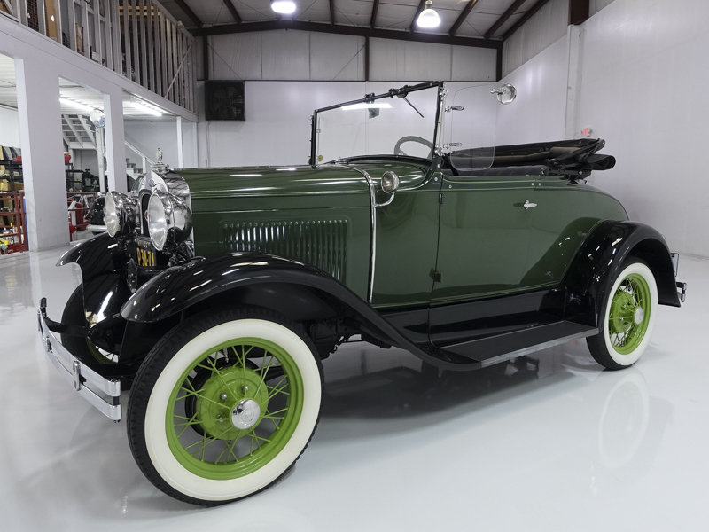 1930 Ford Model A Roadster For Sale (picture 1 of 6)