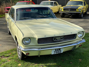 1966 V8 Auto Ford Mustang Springtime Yellow PROJECT
