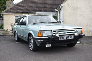 LOT 29: A 1983 Ford Granada 2.8 Ghia Estate - 03/11/19 For Sale by Auction