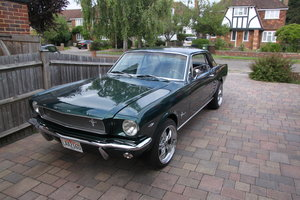1966 Ford Mustang 4 speed