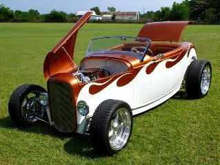 1932 Ford Custom Boydster Hiboy Show Winner Fun 1 off $95.5k