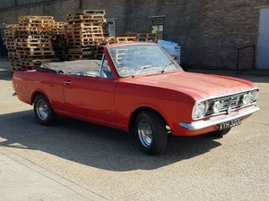 1969 Ford CortinaMK2 Crayford Convertible at ACA 2ndNovember