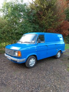 1984 Ford Transit Mk2 Automatic