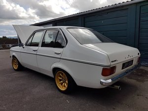1975 MK2 Escort 4 Door, Harris Engine 126BHP