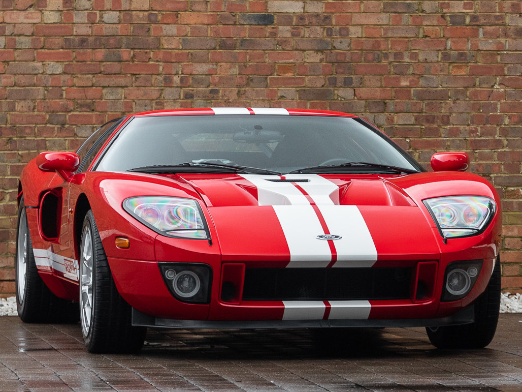 2010 Ford GT - Mark IV Red with Black Leather For Sale (picture 1 of 6)