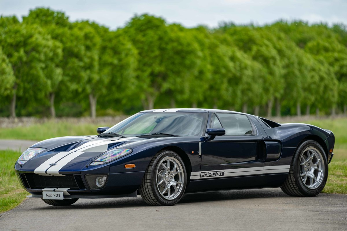 2005 Ford GT - UK delivered example - 2,300 miles from new For Sale (picture 1 of 6)