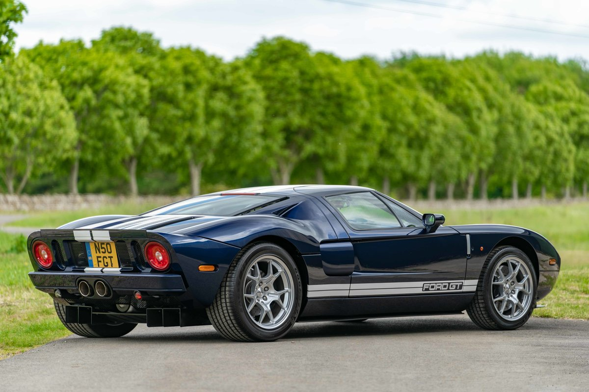 2005 Ford GT - UK delivered example - 2,300 miles from new For Sale (picture 2 of 6)