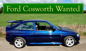 FORD COSWORTH WANTED, CLASSIC CARS WANTED, IMMEDIATE PAYMENT