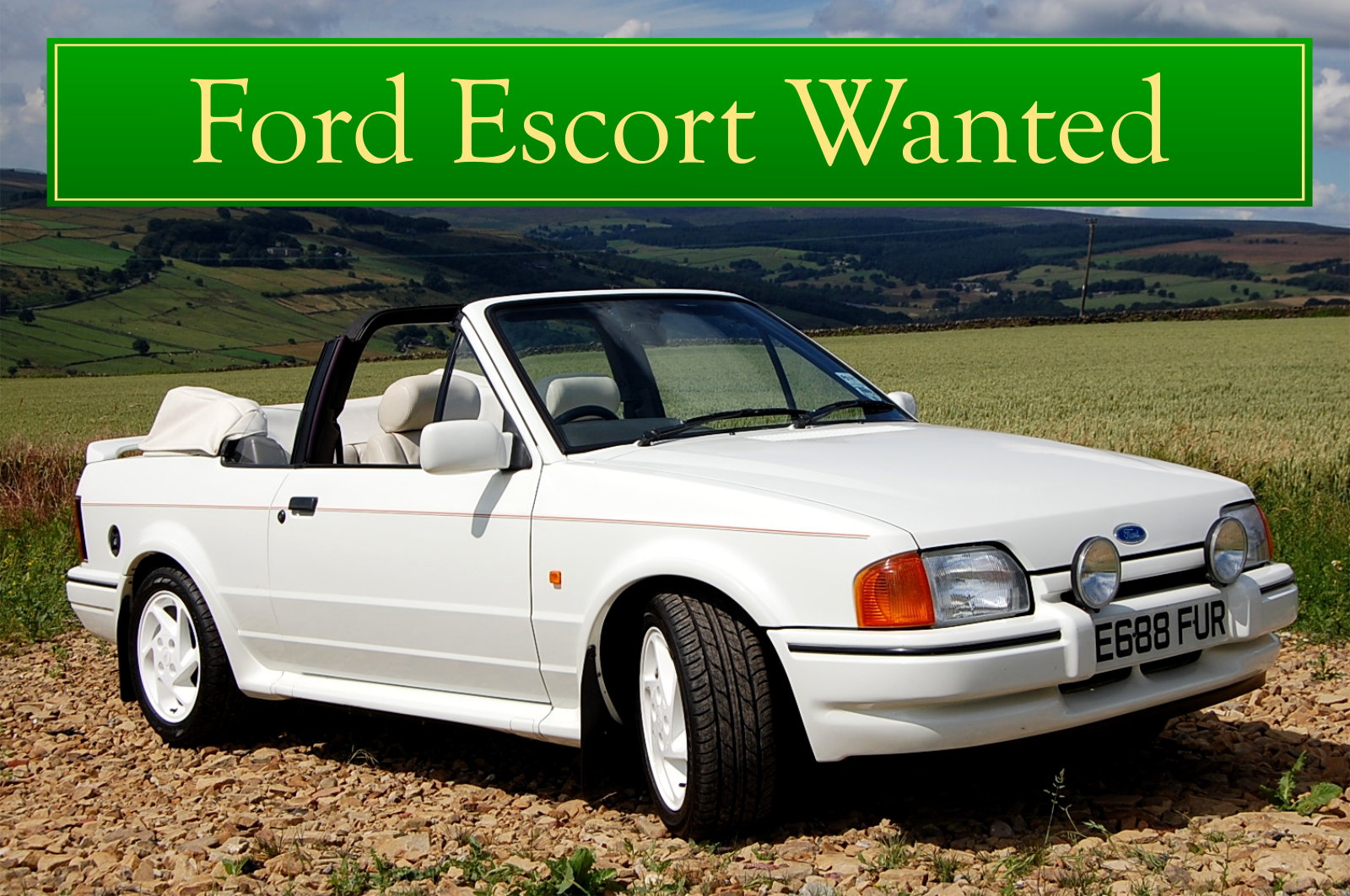 FORD COSWORTH WANTED, CLASSIC CARS WANTED, IMMEDIATE PAYMENT Wanted (picture 2 of 6)