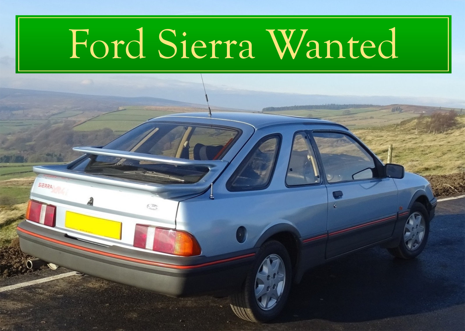 FORD COSWORTH WANTED, CLASSIC CARS WANTED, IMMEDIATE PAYMENT Wanted (picture 4 of 6)
