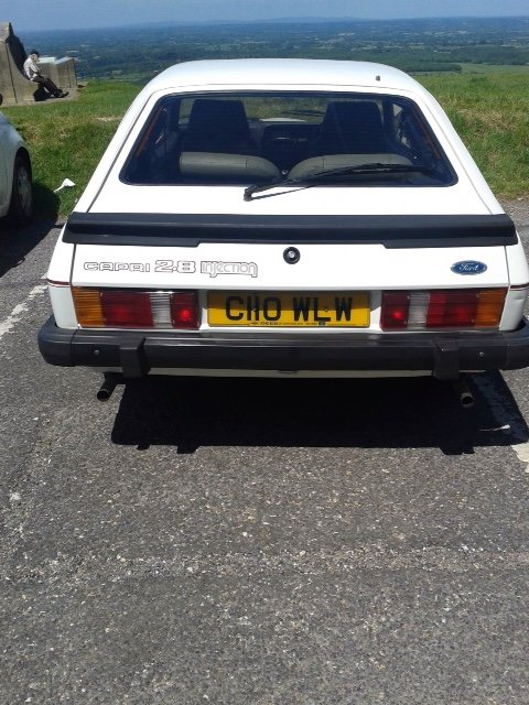 1986 Ford Capri Injection Special - Very Original Survivor SOLD (picture 4 of 6)