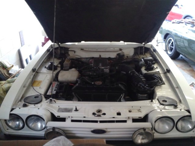1986 Ford Capri Injection Special - Very Original Survivor SOLD (picture 5 of 6)