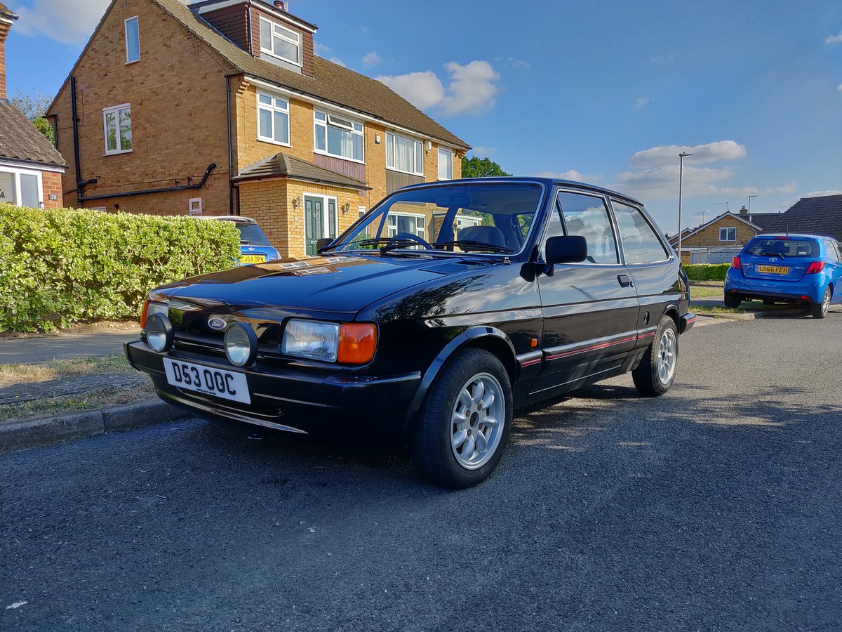 1987 Ford Fiesta mk2 1.4 Ghia For Sale (picture 1 of 6)
