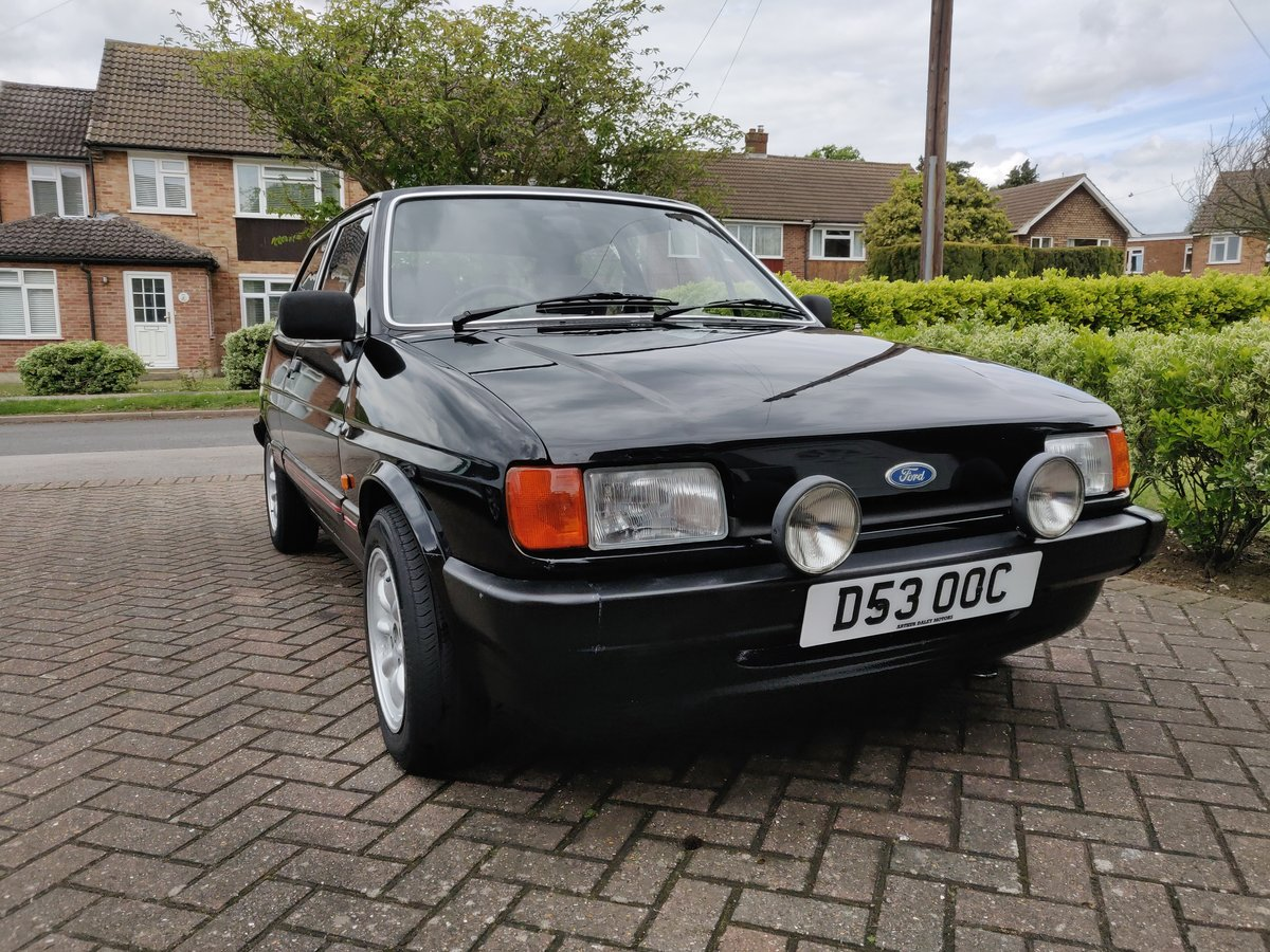 1987 Ford Fiesta mk2 1.4 Ghia For Sale (picture 2 of 6)
