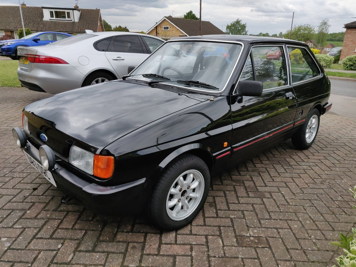 1987 Ford Fiesta mk2 1.4 Ghia For Sale (picture 3 of 6)
