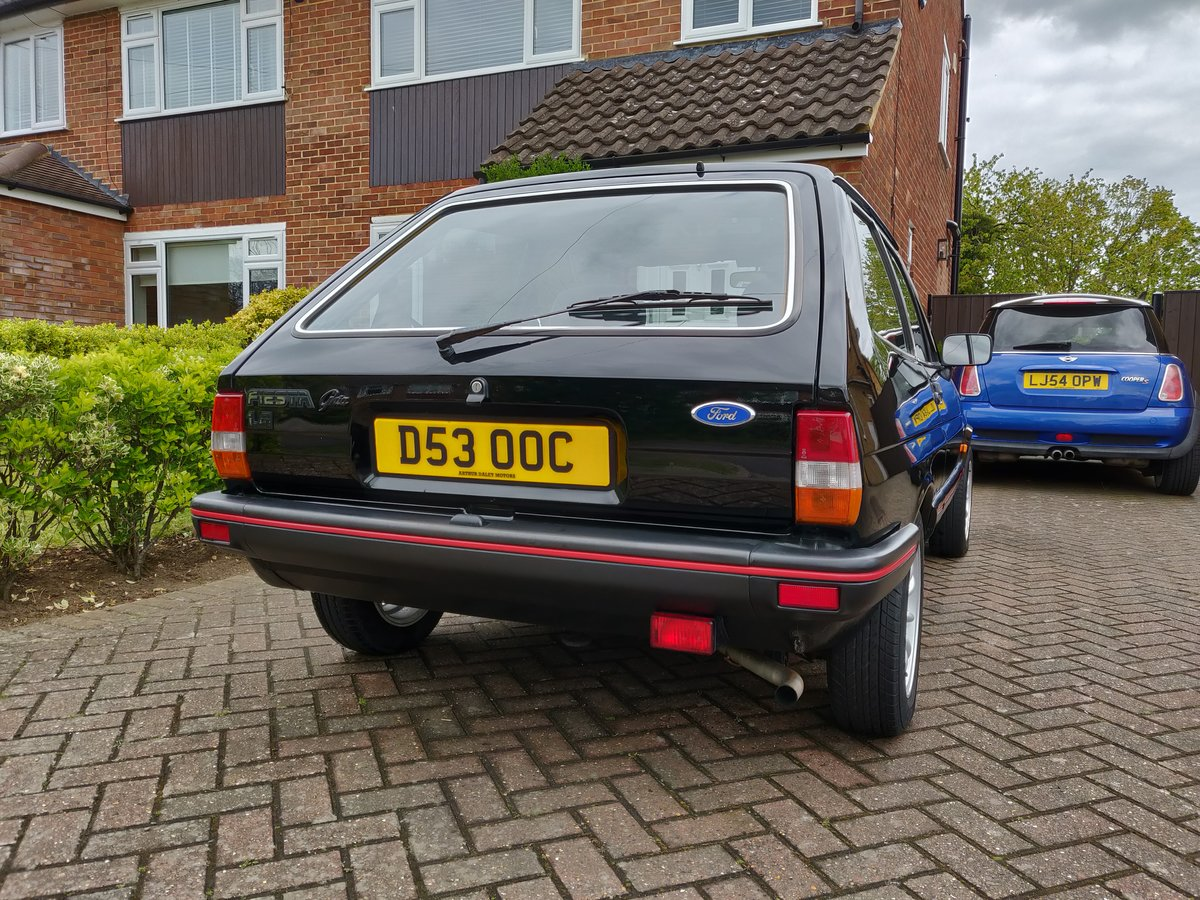 1987 Ford Fiesta mk2 1.4 Ghia For Sale (picture 4 of 6)