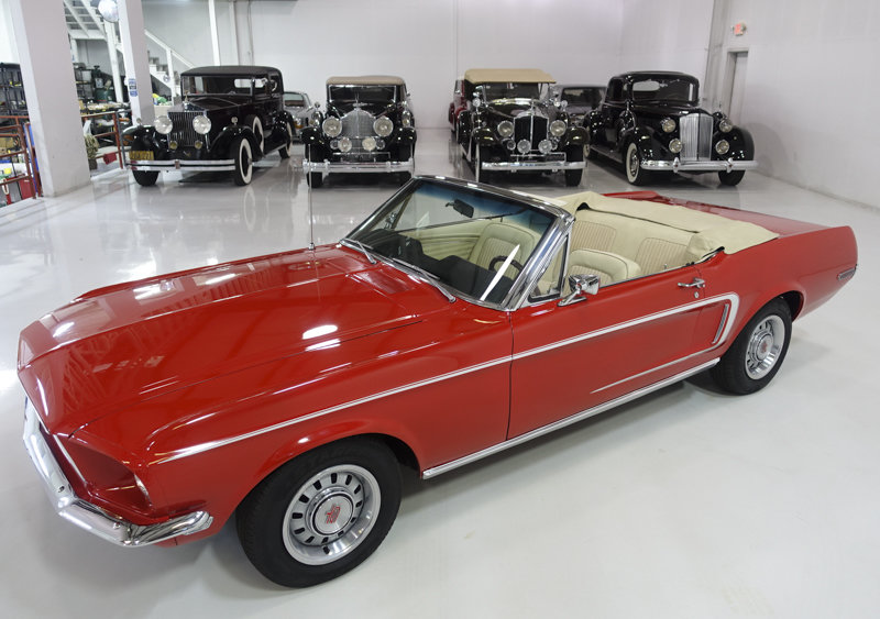 1968 Ford Mustang Convertible For Sale (picture 2 of 6)