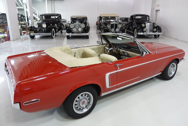 1968 Ford Mustang Convertible For Sale (picture 3 of 6)