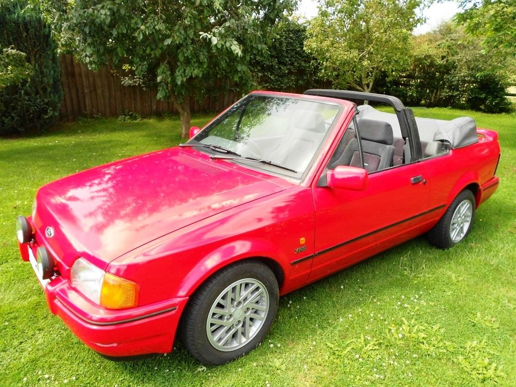 1989 Escort XR3i Cabriolet big history, lots new parts! For Sale (picture 2 of 6)