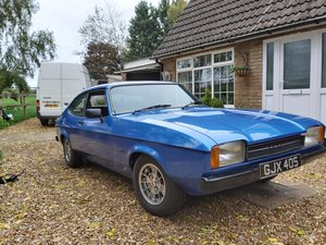 1978 ford capri mk2 3.0 ghia  manual  blue For Sale